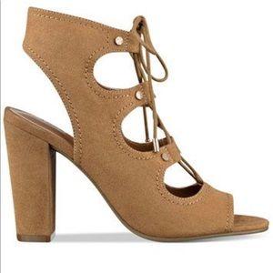Indigo rd. Babel lace up block heel